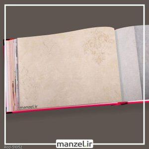 کاغذ دیواری داماسک red کد 51052