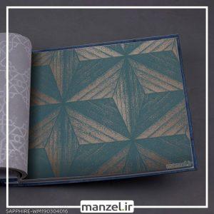 کاغذ دیواری اشکال هندسی Sapphire کد WM190304016