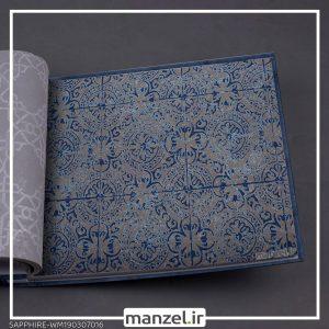 کاغذ دیواری اشکال هندسی Sapphire کد WM190307016