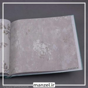 کاغذ دیواری گلدار Turquaise کد WM190302034