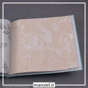 کاغذ دیواری گلدار Turquaise کد WM190302044