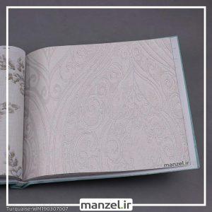کاغذ دیواری گلدار Turquaise کد WM190307007