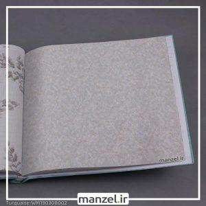 کاغذ دیواری گلدار Turquaise کد WM190308002