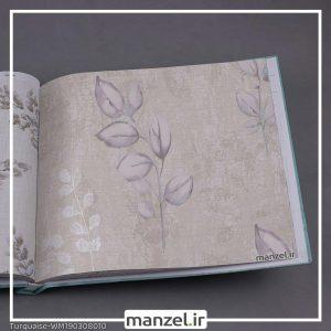 کاغذ دیواری برگ Turquaise کد WM190308010