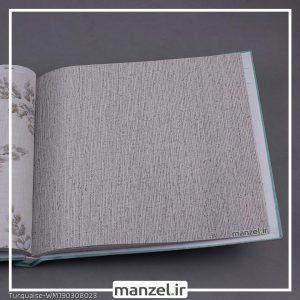 کاغذ دیواری راه راه Turquaise کد WM190308023