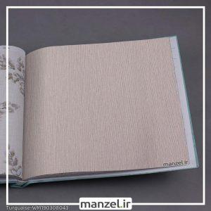 کاغذ دیواری راه راه Turquaise کد WM190308042