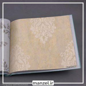 کاغذ دیواری داماسک Turquaise کد WM190308060