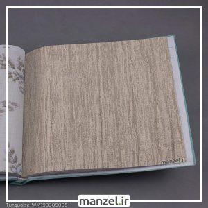 کاغذ دیواری راه راه Turquaise کد WM190309005