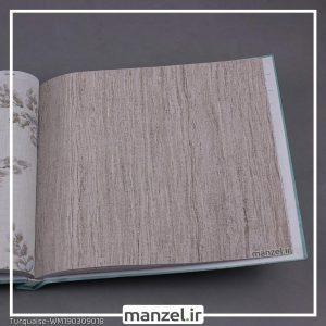 کاغذ دیواری راه راه Turquaise کد WM190309018