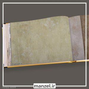 کاغذ دیواری داماسک yellow کد 60011