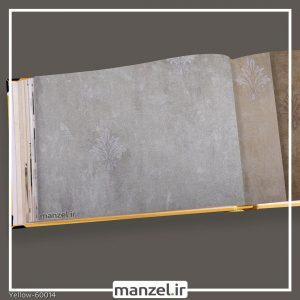 کاغذ دیواری داماسک yellow کد 60014