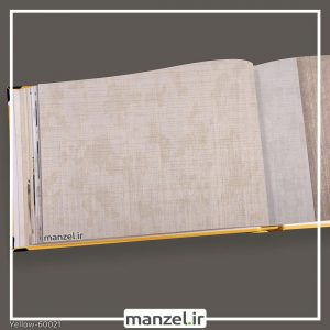 کاغذ دیواری ساده yellow کد 60021