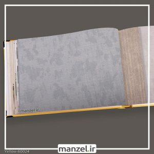کاغذ دیواری ساده yellow کد 60024
