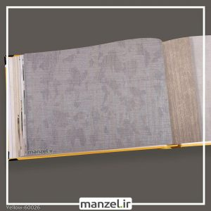 کاغذ دیواری ساده yellow کد 60026