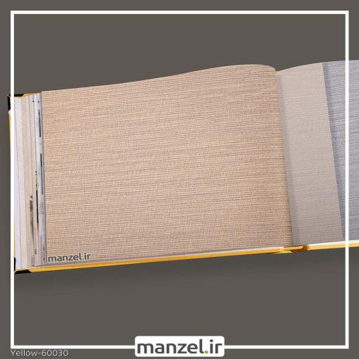 کاغذ دیواری راه راه yellow کد 60030