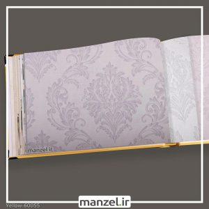 کاغذ دیواری داماسک yellow کد 60055