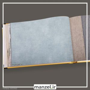 کاغذ دیواری ساده yellow کد 60060
