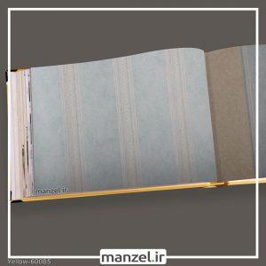 کاغذ دیواری راه راه yellow کد 60085