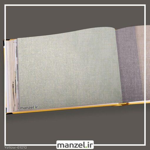 کاغذ دیواری ساده yellow کد 61010