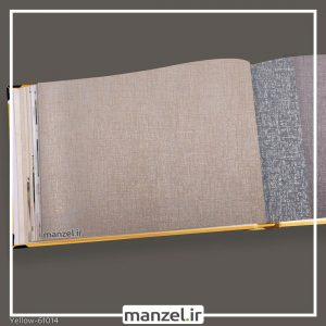 کاغذ دیواری ساده yellow کد 61014