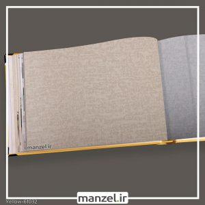 کاغذ دیواری ساده yellow کد 61032