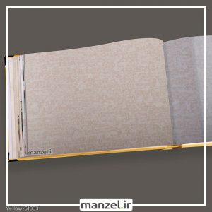 کاغذ دیواری ساده yellow کد 61033