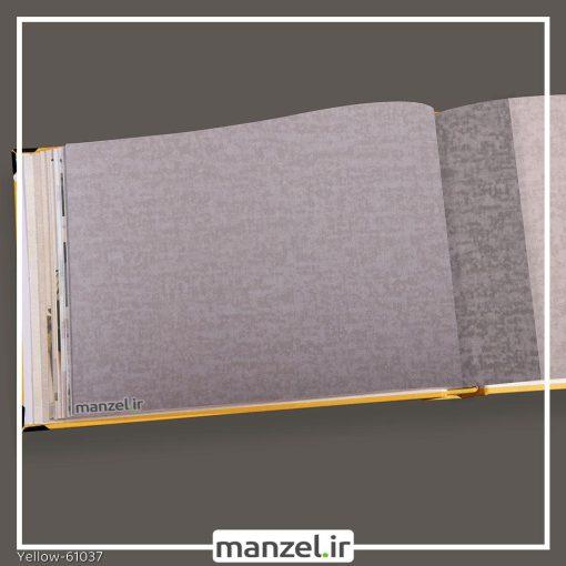کاغذ دیواری ساده yellow کد 61037