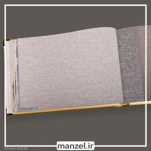 کاغذ دیواری ساده yellow کد 61038