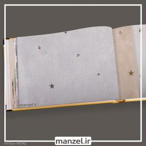 کاغذ دیواری اشکال هندسی yellow کد 61042