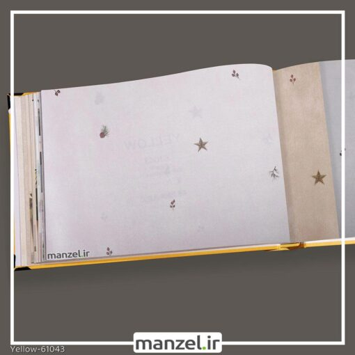 کاغذ دیواری اشکال هندسی yellow کد 61043