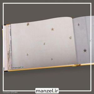 کاغذ دیواری اشکال هندسی yellow کد 61044