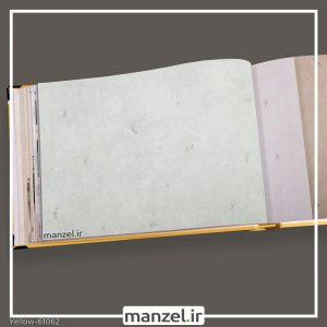 کاغذ دیواری گلدار yellow کد 61062