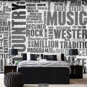 پوستر دیواری طرح موسیقی کد DA-4309
