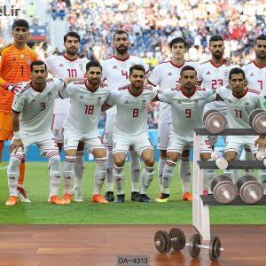 پوستر دیواری تیم ملی فوتبال ایران کد DA-4313