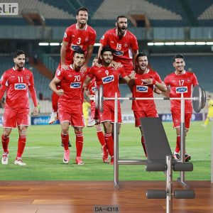 پوستر دیواری تیم فوتبال پرسپولیس کد DA-4318