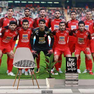 پوستر دیواری تیم فوتبال پرسپولیس کد DA-4319