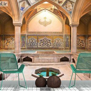 پوستر سه بعدی ساختمان سنتی ایرانی کد DA-4330