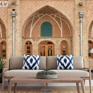 پوستر سه بعدی ساختمان سنتی ایرانی کد DA-4337