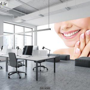 پوستر دیواری دندانپزشکی کد DA-4349