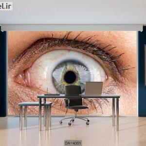 پوستر دیواری چشم پزشکی کد DA-4351
