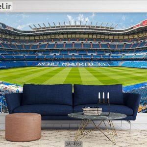 پوستر دیواری طرح ورزشگاه فوتبال کد DA-4357
