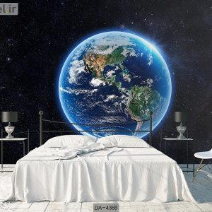 پوستر دیواری کره زمین کد DA-4366