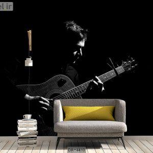 پوستر دیواری طرح نوازنده گیتار کد DA-4410