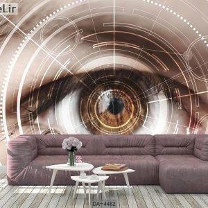 پوستر دیواری چشم پزشکی کد DA-4482