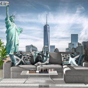 پوستر دیواری طرح شهر نیویورک کد DA-4485