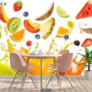 پوستر دیواری طرح میوه کد DA-4492