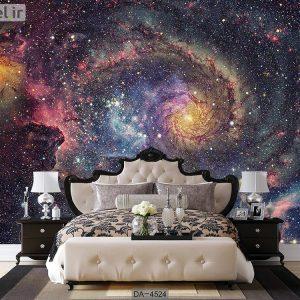 پوستر دیواری طرح کهکشان کد DA-4524