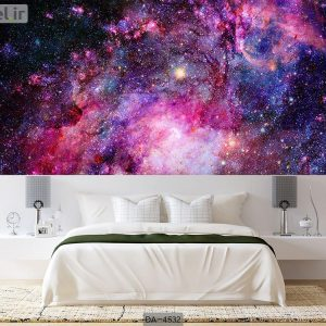 پوستر دیواری طرح کهکشان کد DA-4532