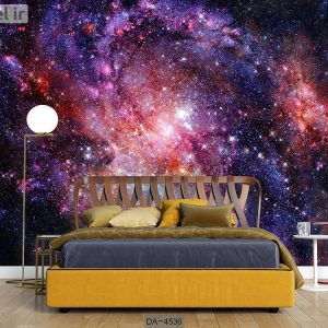 پوستر دیواری طرح کهکشان کد DA-4536