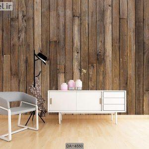 پوستر دیواری طرح چوب کد DA-4550